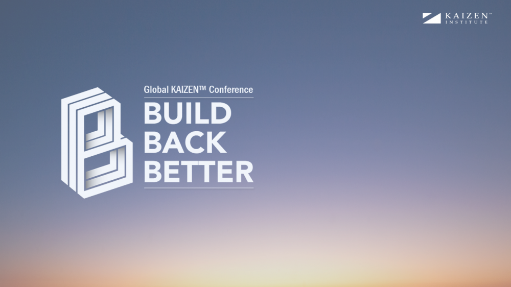 Building Back a Better World