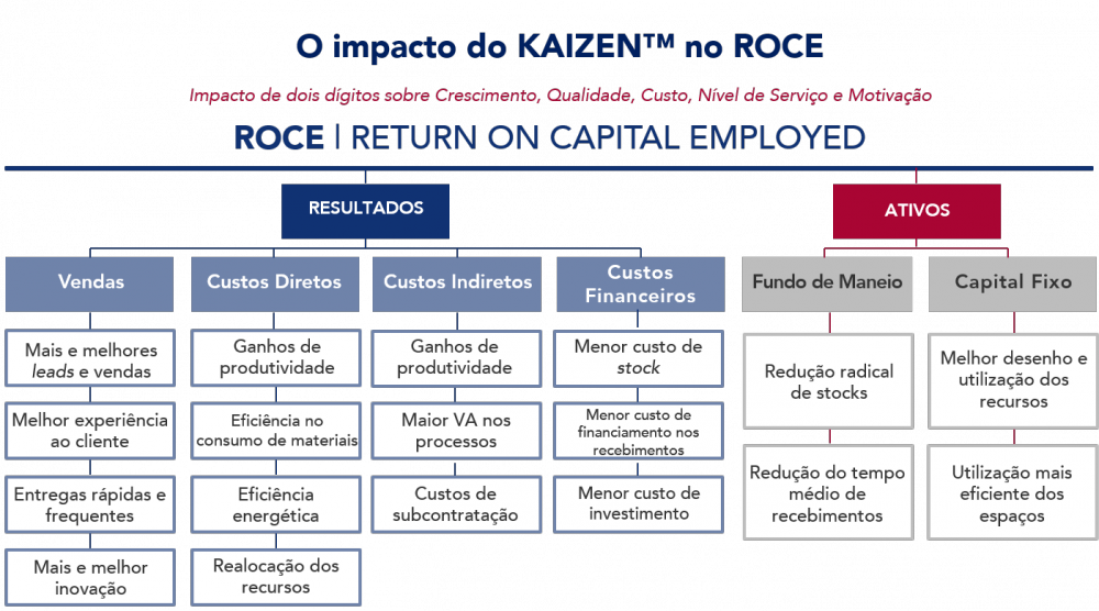 ROCE-kaizen-lean growth improvement productivity excellence